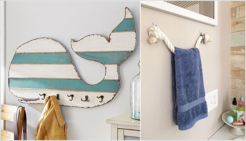 Ý tưởng trang trí tường nhà sáng tạo lấy cảm hứng từ biển - Ảnh 10