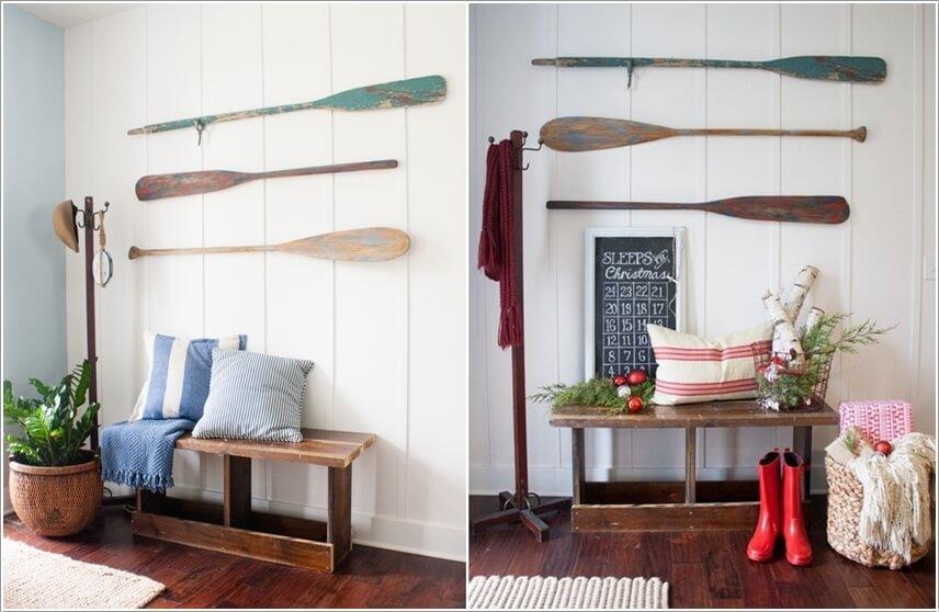 Ý tưởng trang trí tường nhà sáng tạo lấy cảm hứng từ biển - Ảnh 7