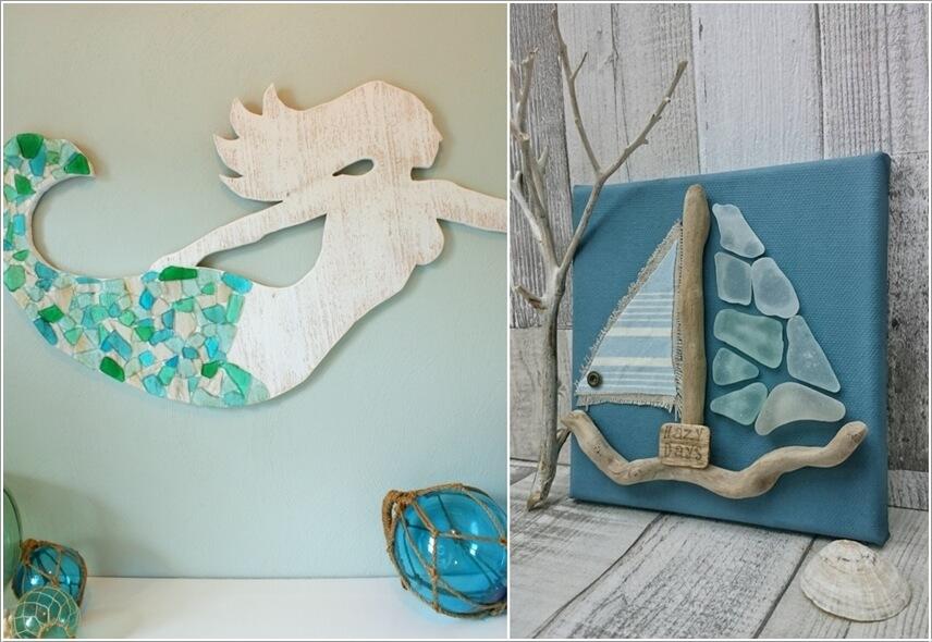 Ý tưởng trang trí tường nhà sáng tạo lấy cảm hứng từ biển - Ảnh 8