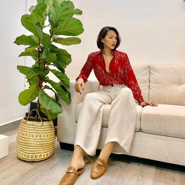 Sao Việt nổi bật với street style cuối năm: Mai Phương Thúy khoe chân dài với mốt giấu quần, Hà Tăng đẳng cấp khi diện maxi - Ảnh 6