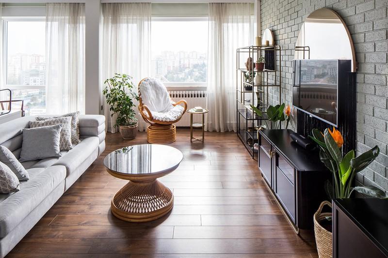 Căn hộ tầng cao sở hữu vẻ đẹp yên bình, giản dị - Ảnh 2