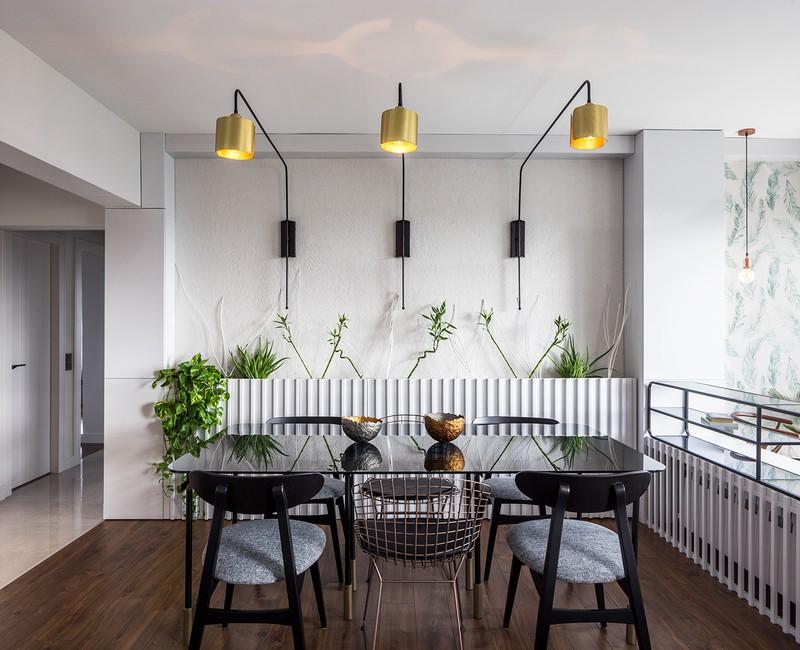 Căn hộ tầng cao sở hữu vẻ đẹp yên bình, giản dị - Ảnh 4