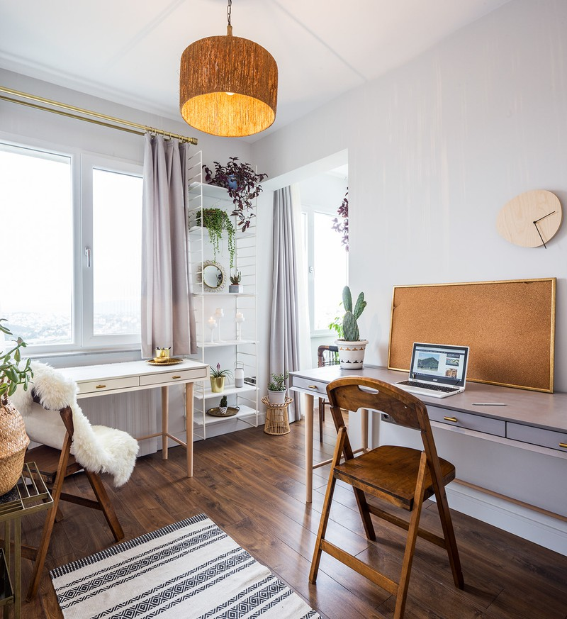 Căn hộ tầng cao sở hữu vẻ đẹp yên bình, giản dị - Ảnh 10