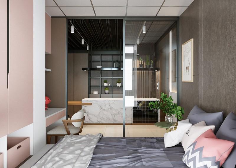 Nhà 2 phòng ngủ rộng rãi nhờ chọn giải pháp cửa trượt - Ảnh 7