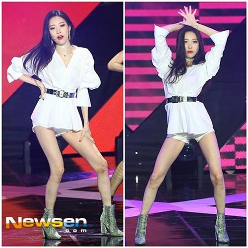 Top 3 nữ Idol có phong cách thời trang lập dị nhất Kpop - Ảnh 13