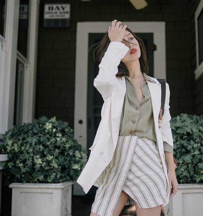 Gợi ý 10 cách biến hóa với áo blazer chuẩn thời thượng cho các nàng diện đẹp suốt mùa Thu năm nay - Ảnh 6