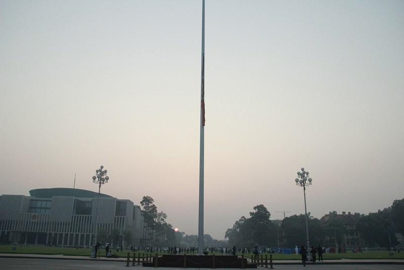 Lễ thượng cờ rủ cố Tổng Bí thư Đỗ Mười - Ảnh 12