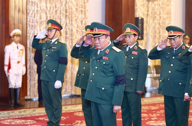 Tang lễ nguyên Tổng bí thư Đỗ Mười tổ chức theo nghi thức Quốc tang - Ảnh 21
