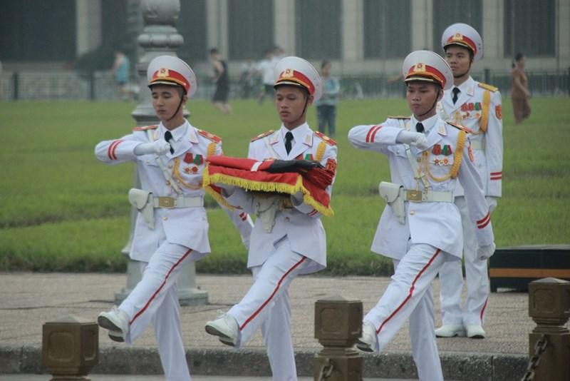 Lễ thượng cờ rủ cố Tổng Bí thư Đỗ Mười - Ảnh 3