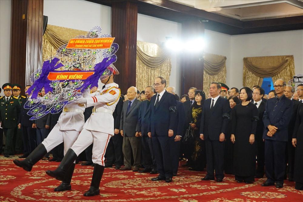 TPHCM: Tổ chức trang trọng lễ viếng nguyên Tổng Bí thư Đỗ Mười - Ảnh 3