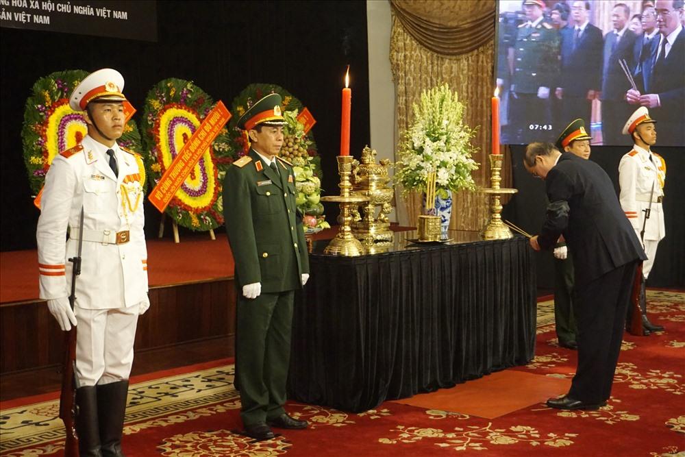 TPHCM: Tổ chức trang trọng lễ viếng nguyên Tổng Bí thư Đỗ Mười - Ảnh 4