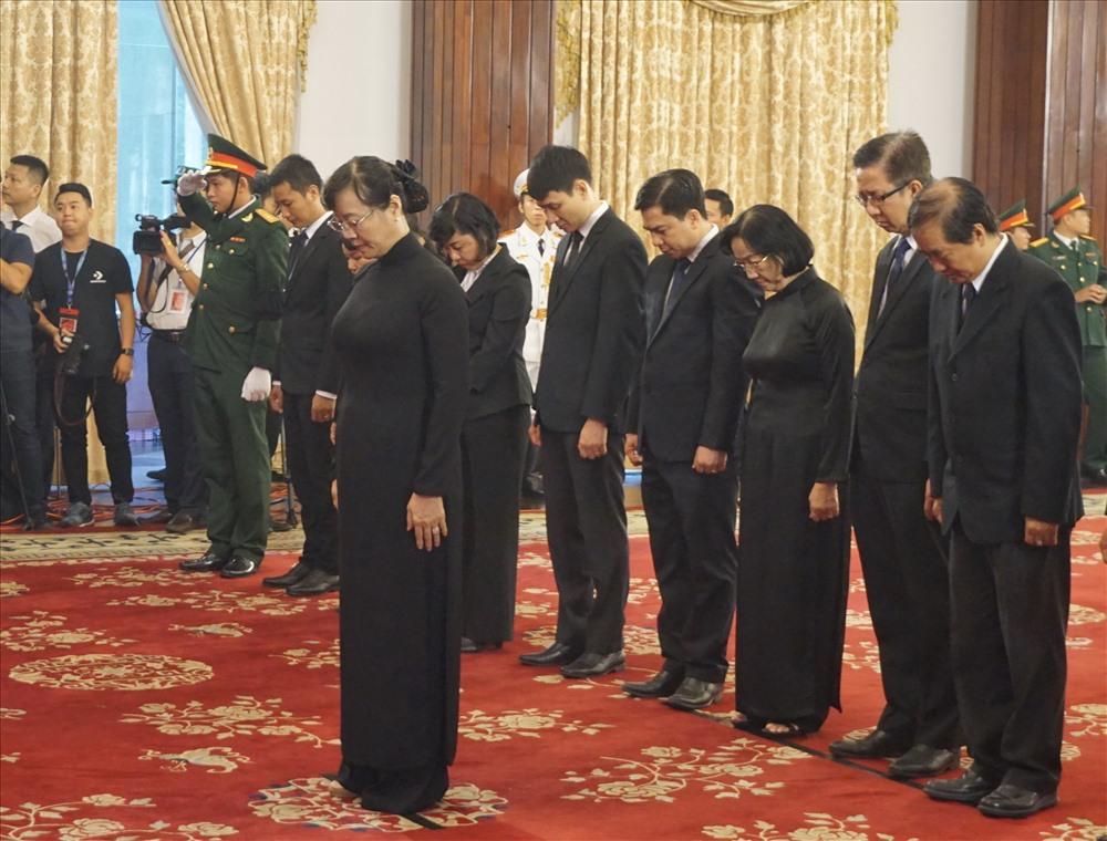 TPHCM: Tổ chức trang trọng lễ viếng nguyên Tổng Bí thư Đỗ Mười - Ảnh 5