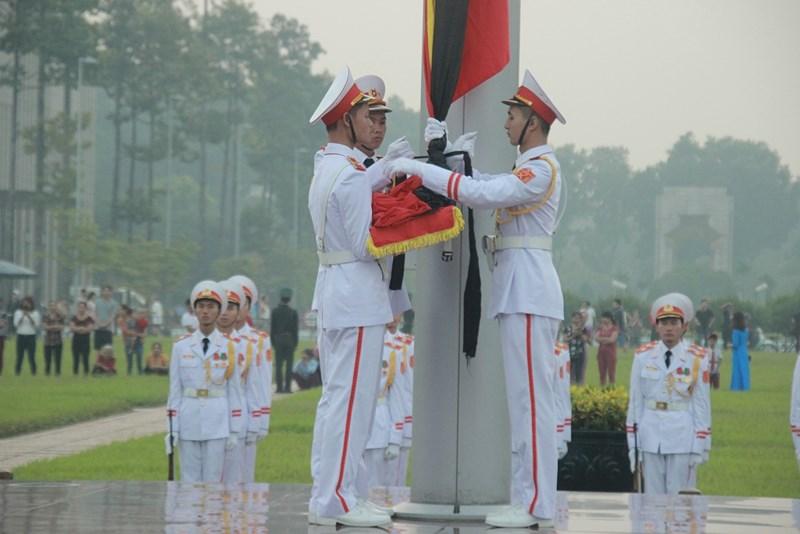 Lễ thượng cờ rủ cố Tổng Bí thư Đỗ Mười - Ảnh 6