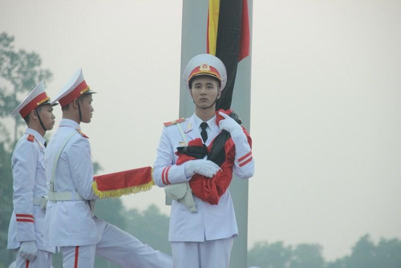 Lễ thượng cờ rủ cố Tổng Bí thư Đỗ Mười - Ảnh 7