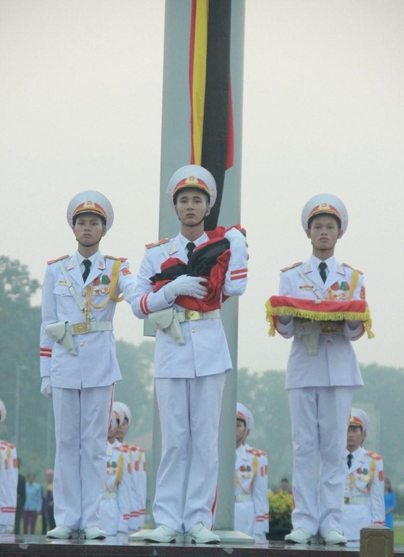 Lễ thượng cờ rủ cố Tổng Bí thư Đỗ Mười - Ảnh 8