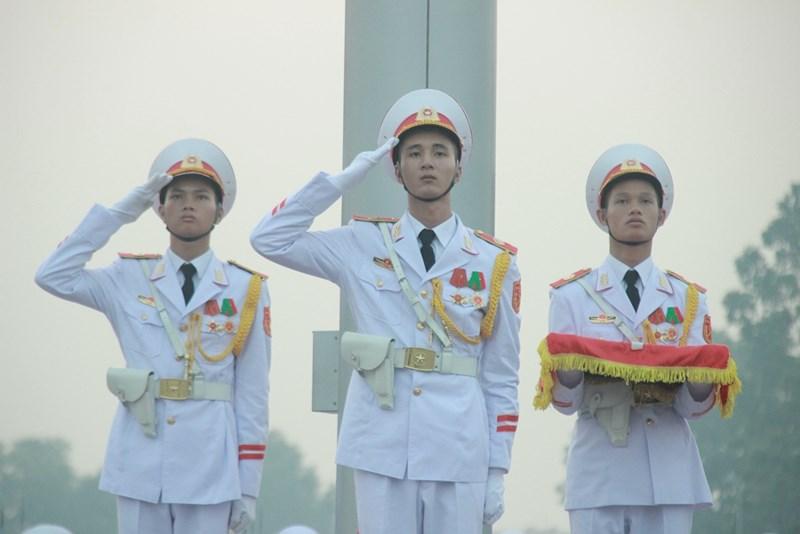 Lễ thượng cờ rủ cố Tổng Bí thư Đỗ Mười - Ảnh 9