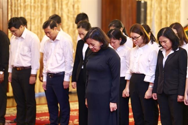 Tang lễ nguyên Tổng bí thư Đỗ Mười tổ chức theo nghi thức Quốc tang - Ảnh 20