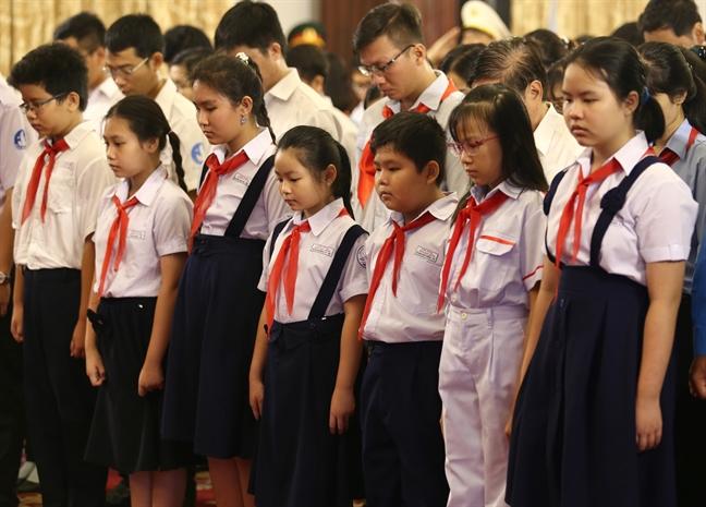 Tang lễ nguyên Tổng bí thư Đỗ Mười tổ chức theo nghi thức Quốc tang - Ảnh 23