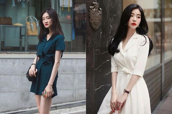 5 kiểu váy ngày hè mát rượi mặc là xinh dành cho bạn gái công sở - Ảnh 7