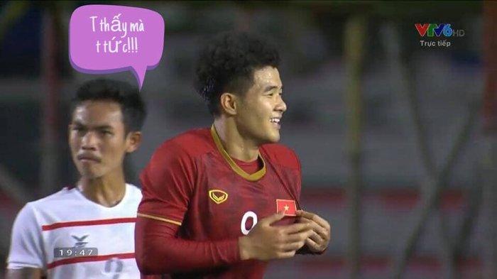 'Chết cười' với loạt ảnh chế sau trận Việt Nam - Campuchia: Thầy Park 'chóng mặt', Đức Chinh khiến thủ môn đội bạn 'giận tím người' - Ảnh 3