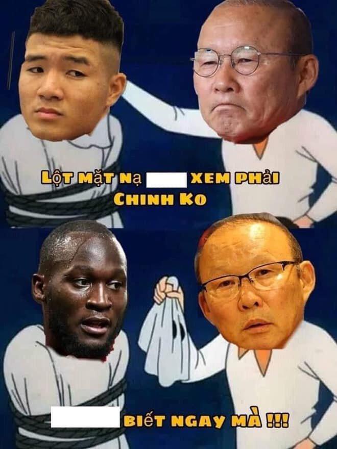 'Chết cười' với loạt ảnh chế sau trận Việt Nam - Campuchia: Thầy Park 'chóng mặt', Đức Chinh khiến thủ môn đội bạn 'giận tím người' - Ảnh 4