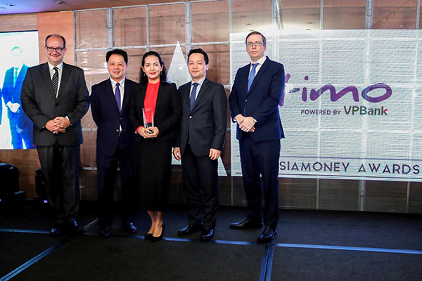 Timo Digital Bank nhận giải thưởng Ngân hàng Kỹ thuật số tốt nhất Việt Nam năm 2019 - Ảnh 1