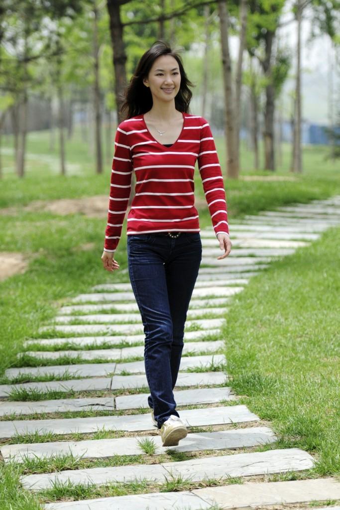 Nhiều phụ nữ trước khi mang thai đều tập thể dục bằng cách đi bộ
