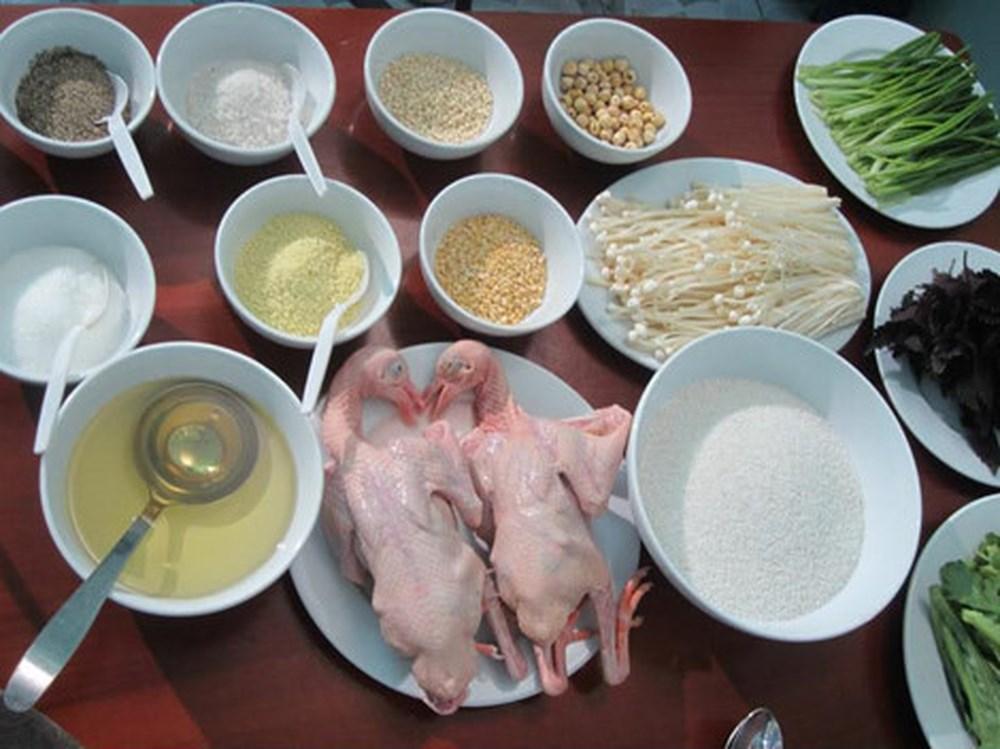 Cách nấu cháo chim bồ câu thơm ngon cho bà bầu an thai, bồi bổ khí huyết - Ảnh 2
