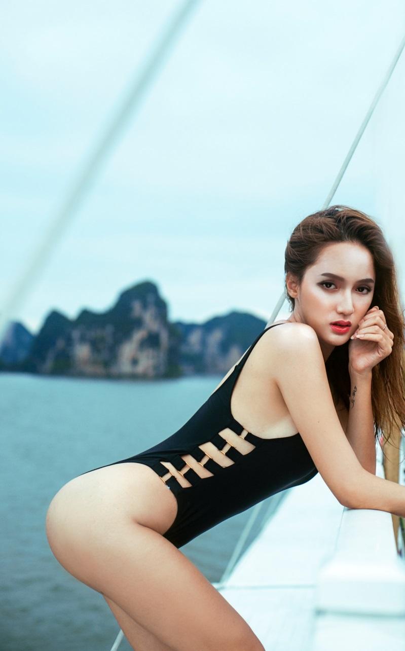 Hương Giang Idol và những lần khoe cơ thể sexy khiến phụ nữ đích thực cũng phải ghen tỵ - Ảnh 6