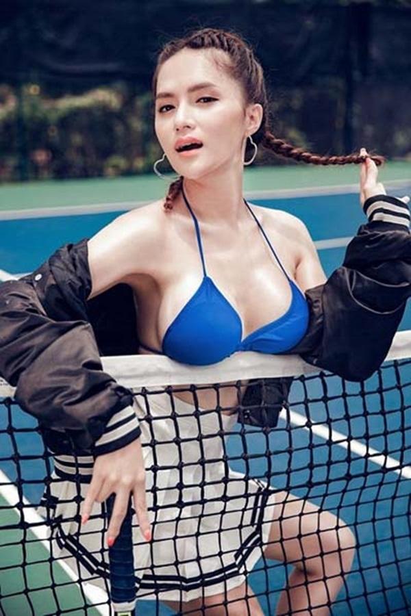 Hương Giang Idol và những lần khoe cơ thể sexy khiến phụ nữ đích thực cũng phải ghen tỵ - Ảnh 8