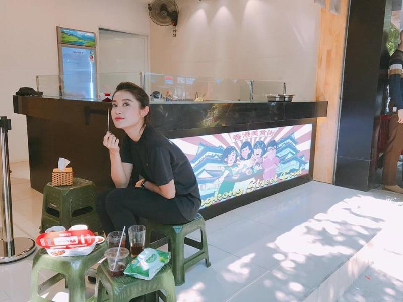 Huyền My bất ngờ xuống tóc sau cuộc thi Hoa hậu Hòa bình Thế Giới 2017
