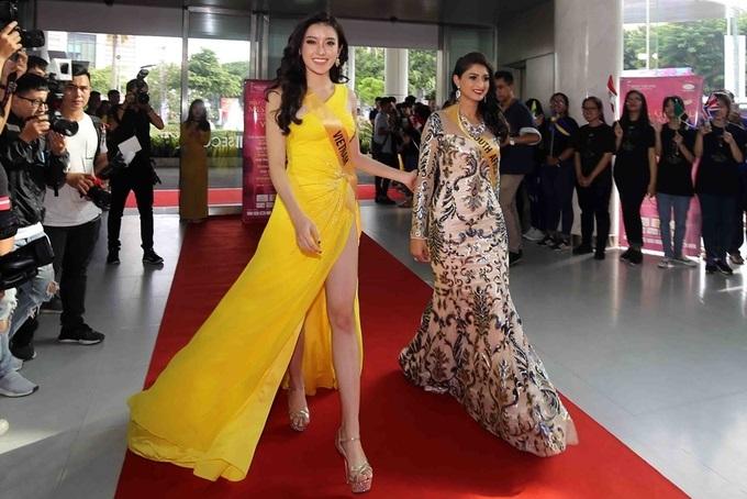 Hành trình đến chung kết Miss Grand 2017 của Huyền My: Vương miện có nằm trong tầm tay? - Ảnh 4