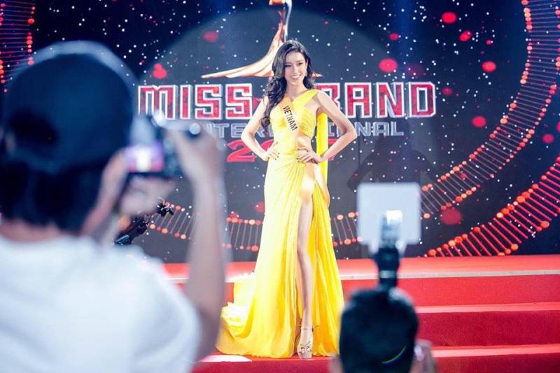 Hành trình đến chung kết Miss Grand 2017 của Huyền My: Vương miện có nằm trong tầm tay? - Ảnh 1
