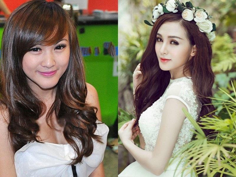 Những sao Việt 'dọa' khán giả vì gương mặt khác lạ khi phẫu thuật thẩm mỹ hỏng - Ảnh 10