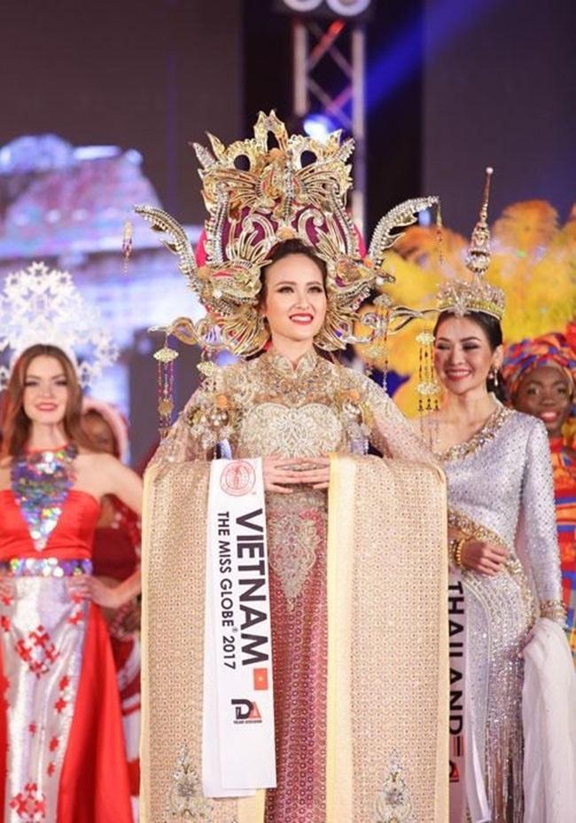 Những hoa hậu Việt cứ lặng lẽ đi thi lại được giải cao - Ảnh 1