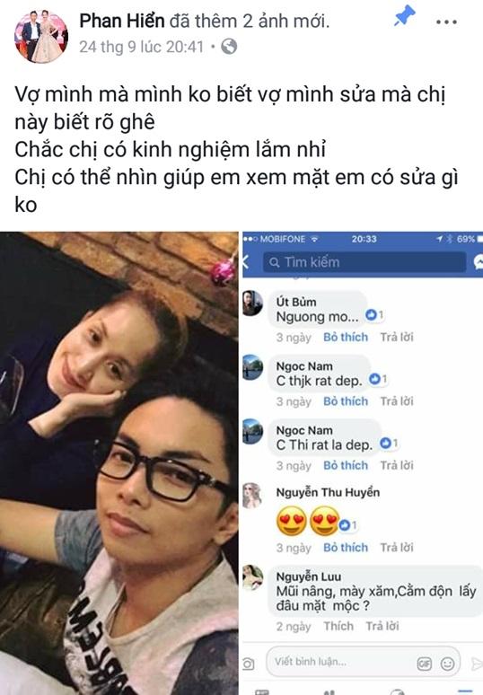 Choáng với hành động của Phan Hiển khi Khánh Thi bị tố phẫu thuật thẩm mỹ ở độ tuổi U40 - Ảnh 3