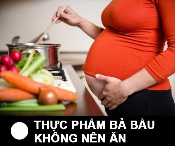 Khi mang thai mà ăn những thực phẩm này mẹ mất con lúc nào chẳng hay hãy cẩn thận - Ảnh 1