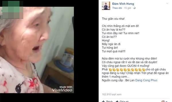 Clip 'bà ngoại xì tin': Không chỉ dân mạng mà Mr. Đàm và nhiều nghệ sĩ Việt cũng phát cuồng - Ảnh 1