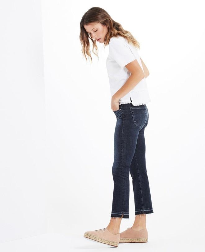 4 kiểu quần jeans chất lừ vừa hợp xu hướng, lại giúp đôi chân thon gọn, dài miên man - Ảnh 1