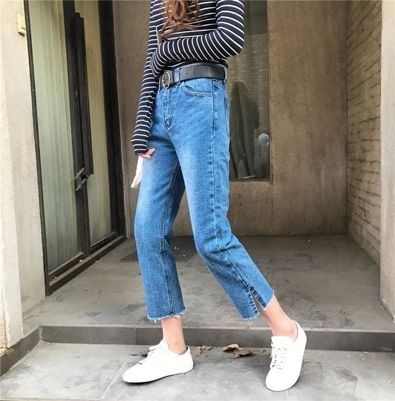 4 kiểu quần jeans chất lừ vừa hợp xu hướng, lại giúp đôi chân thon gọn, dài miên man - Ảnh 2