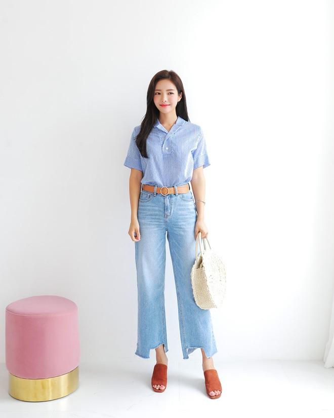 4 kiểu quần jeans chất lừ vừa hợp xu hướng, lại giúp đôi chân thon gọn, dài miên man - Ảnh 3