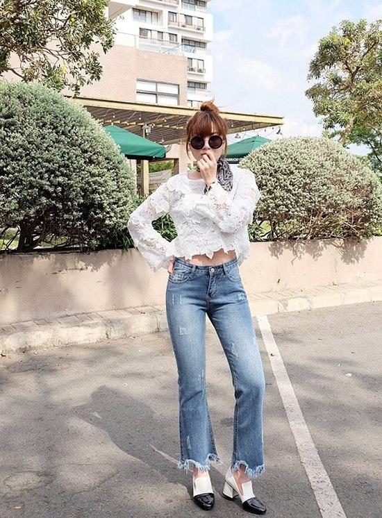 4 kiểu quần jeans chất lừ vừa hợp xu hướng, lại giúp đôi chân thon gọn, dài miên man - Ảnh 4