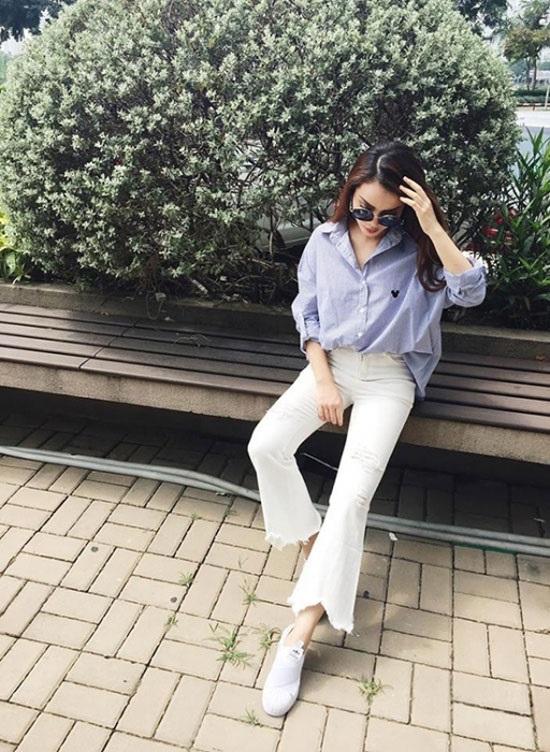4 kiểu quần jeans chất lừ vừa hợp xu hướng, lại giúp đôi chân thon gọn, dài miên man - Ảnh 5