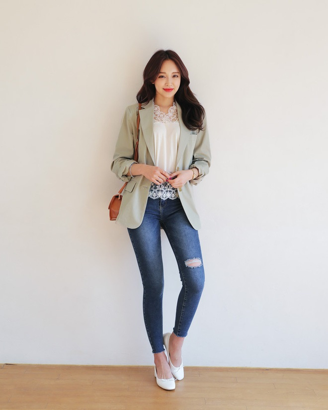 4 kiểu quần jeans chất lừ vừa hợp xu hướng, lại giúp đôi chân thon gọn, dài miên man - Ảnh 7