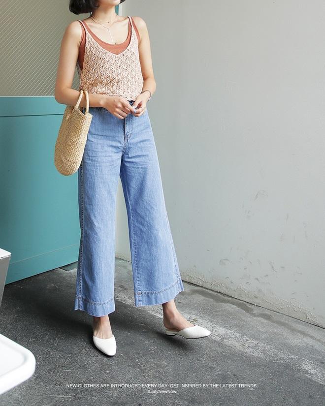 4 kiểu quần jeans chất lừ vừa hợp xu hướng, lại giúp đôi chân thon gọn, dài miên man - Ảnh 9
