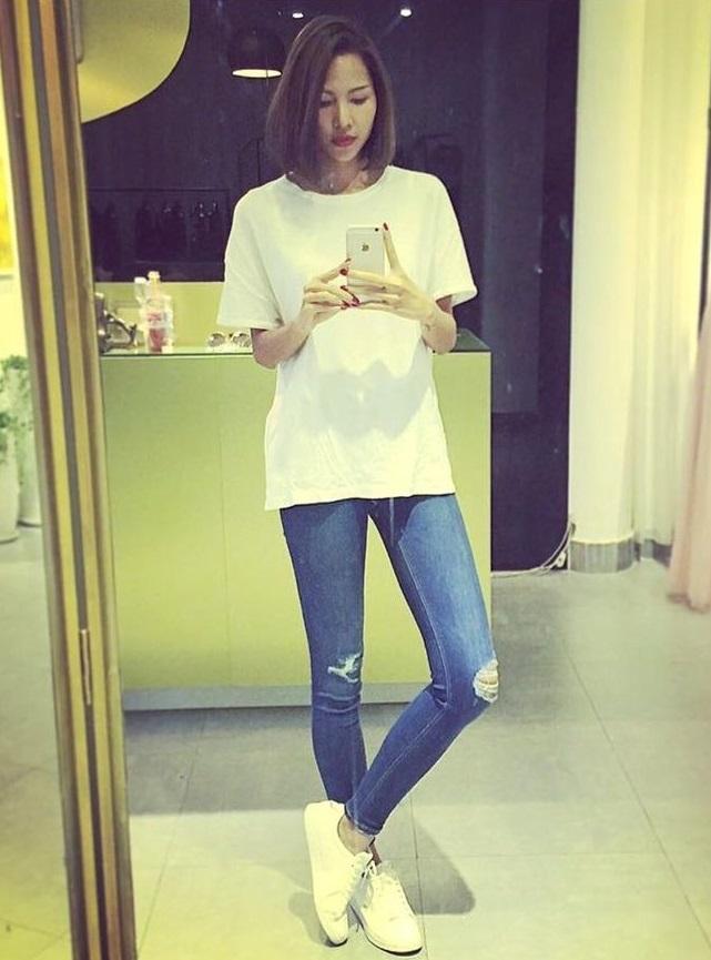 4 kiểu quần jeans chất lừ vừa hợp xu hướng, lại giúp đôi chân thon gọn, dài miên man - Ảnh 6
