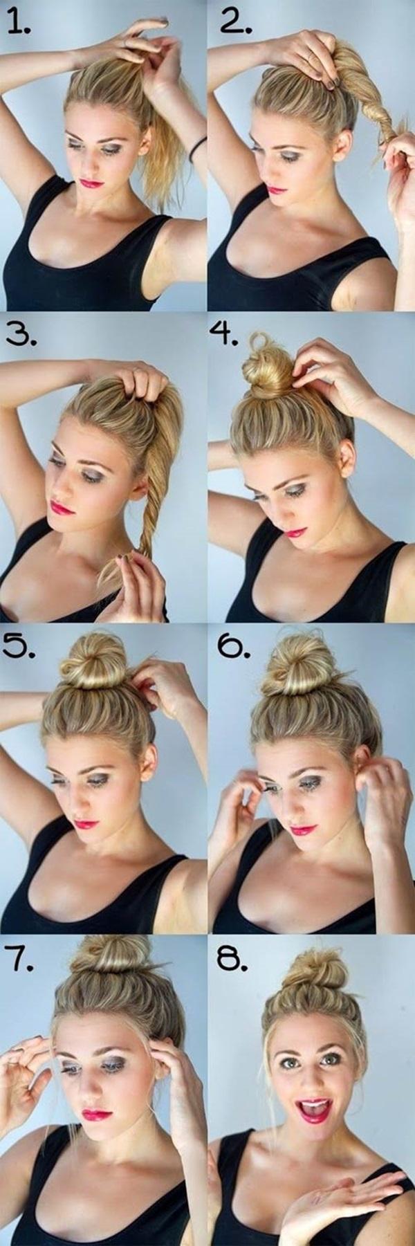 4 kiểu tóc thời trang đơn giản mà đẹp cho cô nàng bận rộn