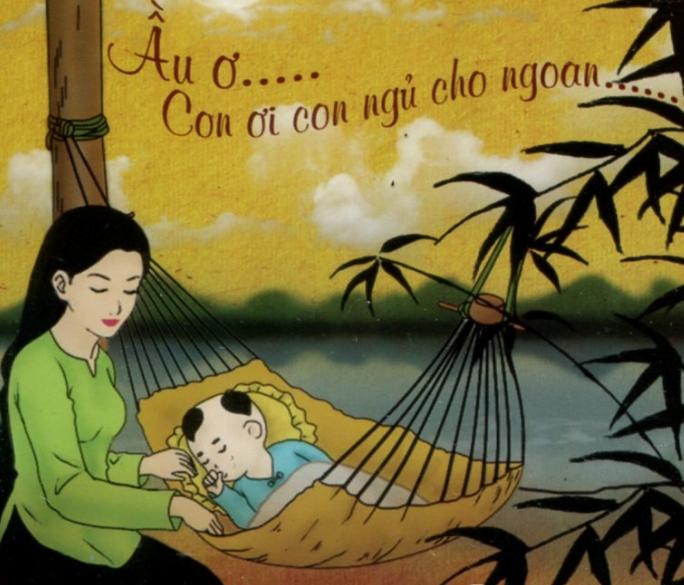 Mẹ hát ru bé trước giờ đi ngủ