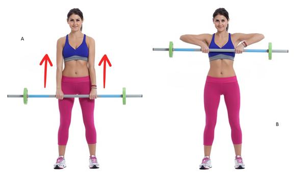 10 động tác giúp triệt tiêu mỡ thừa vùng lưng và hai bên nách - Ảnh 4