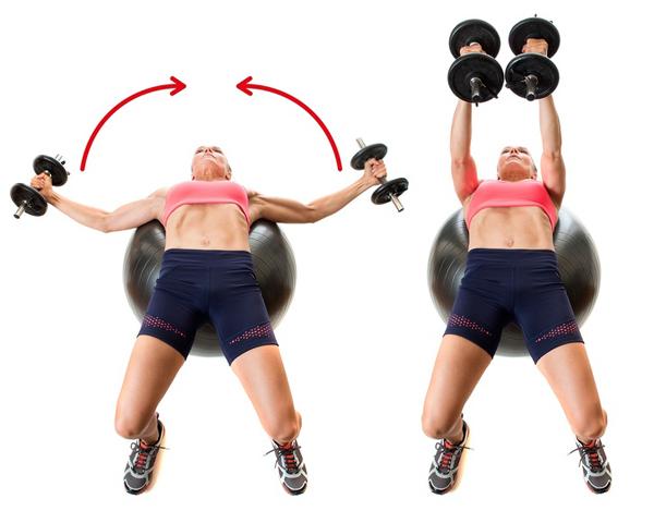 10 động tác giúp triệt tiêu mỡ thừa vùng lưng và hai bên nách - Ảnh 5